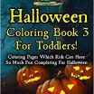Halloween Coloring Book Pages Beautiful Halloween Coloring Book 3 for toddlers Coloring Pages which Kids