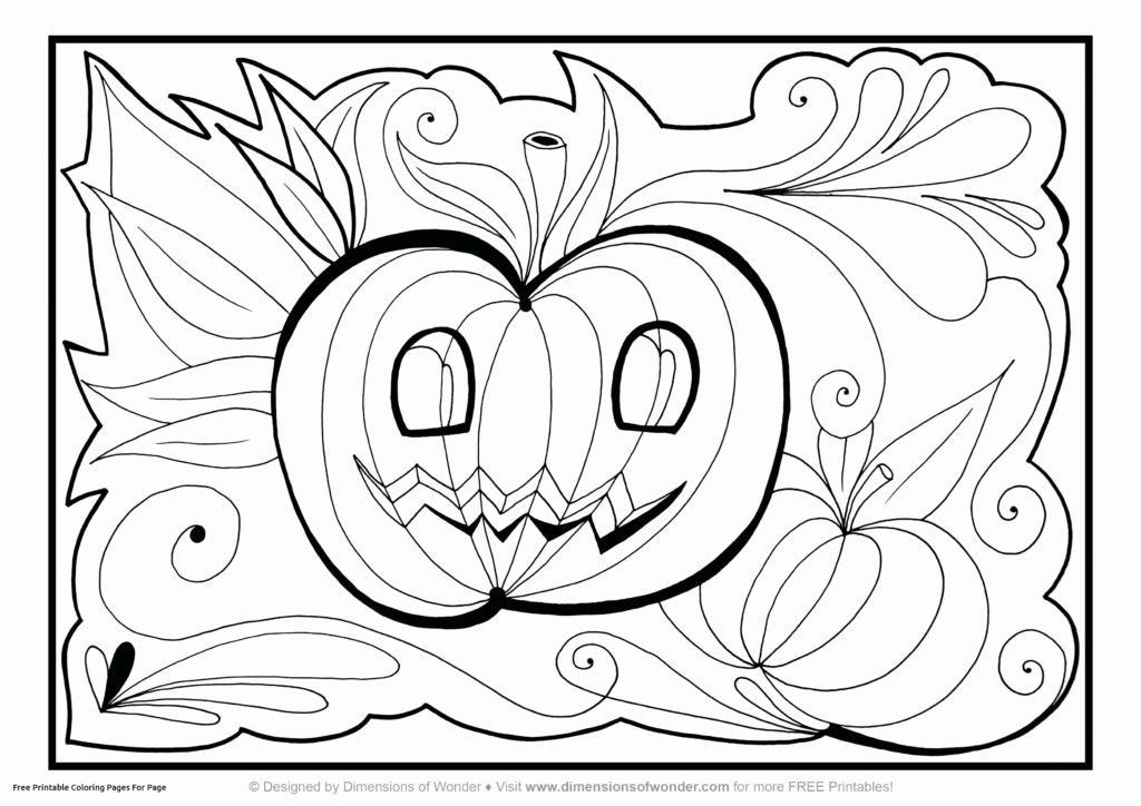 Halloween Coloring Book Pages Best Free Printable Coloring Pages for Preschoolers Unique Free Printable