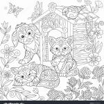 Halloween Coloring Book Pages Elegant Elegant Cute Dog and Cat Coloring Pages – Kursknews