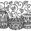 Halloween Coloring Contest Pages Beautiful Lovely Pumpkin with Hat Coloring Pages – Dazhou