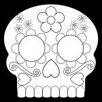 Halloween Costumes Coloring Pages Awesome Day Of the Dead Masks Sugar Skulls Free Printable Paper Trail Design