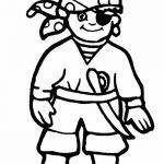Halloween Costumes Coloring Pages Awesome Halloween Pirates to Color