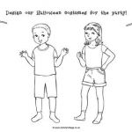 Halloween Costumes Coloring Pages Awesome Imagination Doodle Pages for Kids