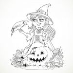 Halloween Costumes Coloring Pages Best Of Coloring Amazing Halloween Witch Coloring Pages Awesome Printable