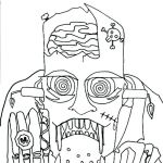 Halloween Costumes Coloring Pages Best Of Halloween Masks Coloring Pages – Thishouseiscooking