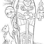 Halloween Mask Coloring Pages Awesome Halloween Coloring Page Free – Contentpark