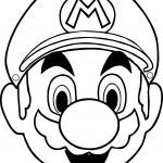 Halloween Mask Coloring Pages Creative Halloween Masks Super Mario Face Coloring Page Cakes