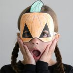 Halloween Mask Coloring Pages Elegant Halloween Masks to Print and Color It S Always Autumn