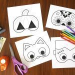 Halloween Mask Coloring Pages Excellent 72 Free Printable Halloween Masks for All Ages