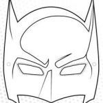 Halloween Mask Coloring Pages Inspiration Inspirational Bat Man Mask Coloring Pages – Doiteasy