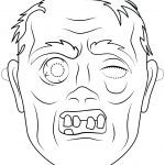 Halloween Mask Coloring Pages Inspirational Halloween Masks Coloring Sheet – Mrpage
