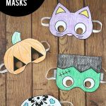 Halloween Mask Coloring Pages Wonderful Halloween Masks to Print and Color It S Always Autumn