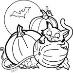 Halloween Pictures to Color Inspirational Cute Tiger Coloring Pages Best Free Printable Halloween Coloring