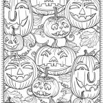 Halloween Pumpkin Coloring Best Free Printable Halloween Coloring Pages for Adults