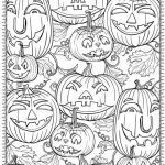 Halloween Pumpkin Coloring Pages Excellent Free Printable Halloween Coloring Pages for Adults