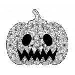 Halloween Pumpkin Coloring Pages Exclusive 30 Halloween Mandala Coloring Pages Gallery Coloring Sheets