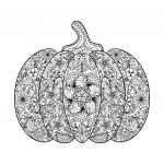Halloween Pumpkin Coloring Pages Inspiration Very Detailed Halloween Coloring Pages
