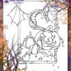 Halloween Pumpkin Coloring Pages Pretty Pumpkin Dragon Halloween Adult Coloring Page Autumn