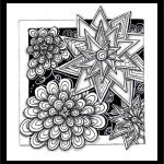 "Halloween Zentangle Patterns Awesome Tickled to Tangle ""it S A String Thing"" 241 Tiles"