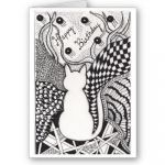 Halloween Zentangle Patterns Beautiful Happy Birthday Kitty Zendoodle