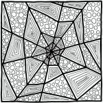Halloween Zentangle Patterns Best F Center Mandala Z E N T A N G L E S