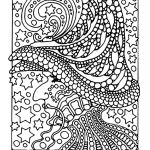 Halloween Zentangle Patterns Creative Monkey Coloring Pages
