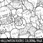 Halloween Zentangle Patterns Elegant Doodle Coloring Pages Lovely Fox Mandala Coloring Pages Elephant