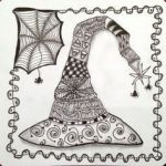 Halloween Zentangle Patterns Inspiration 445 Best Halloween Coloring Images In 2019