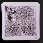 "Halloween Zentangle Patterns Inspiration Tickled to Tangle ""it S A String Thing"" 241 Tiles"