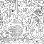 Halloween Zentangle Patterns Inspirational 11 Unique Halloween Coloring Pages Pdf