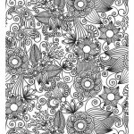 Halloween Zentangle Patterns Marvelous Flower Power Coloring Pages Awesome Tree Adult Coloring Page Sunday