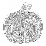 Halloween Zentangle Patterns Wonderful Idees Fluch Pumpkin Coloring Pages Wiki Design