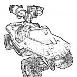 Halo Color Pages Brilliant Halo Coloring Pages