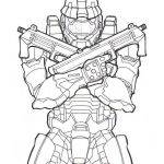 Halo Color Pages Elegant Halo Coloring Pages