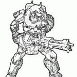 Halo Color Pages Excellent 17 Best Halo 5 4 3 Reach Coloring Pages Images In 2019