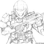 Halo Color Pages Excellent Halo Coloring Pages