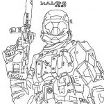 Halo Color Pages Inspiration Halo Mega Bloks Coloring Pages