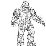 Halo Coloring Books Awesome Halo Pictures to Print and Color Animals
