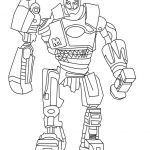 Halo Coloring Books Awesome Real Steel Coloring Pages