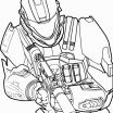 Halo Coloring Pictures Inspiration Halo Coloring Pages