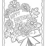 Happy Birthday Cards to Color and Print Inspirational 134 Best Happy Birthday Coloring Pages Images In 2019