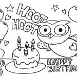 Happy Birthday Cards to Color and Print Inspirational Birthday Cards to Print Out Print Out Coloring Birthday Cards Print