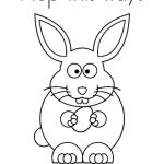 Happy Easter Coloring Pages Exclusive 9 Places for Free Bunny Coloring Pages