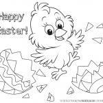 Happy Easter Coloring Pages Inspiration Coloring Page Printable Easter Coloring Pages Page Free Disney to