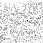 Happy Easter Coloring Pages Inspirational Easter Egg Printouts – Tri Phase
