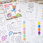 Happy Easter Coloring Pages Inspired Happy Easter Mouse Free Printable Pack Inspired by Laura Numeroff