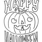 Happy Halloween Coloring Creative √ Printable Halloween Coloring Pages