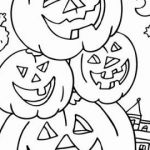 Happy Halloween Coloring Marvelous Free Printable Coloring Pages Fall Season Beautiful Splendid