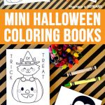Happy Halloween Coloring Marvelous Halloween Mini Booklet Coloring Pages