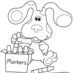 Happy Thanksgiving Coloring Pages Fresh Blues Clues Coloring Pages Happy Birthday Blue Page